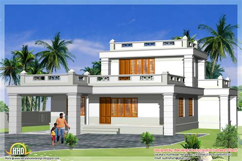 Kerala Home Design Hd Images | small building only 1st floar elevation hd images