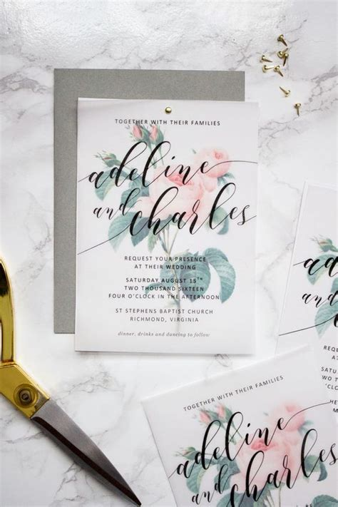 wedding invitations with vellum 10 proven tips to picking the wedding invitation