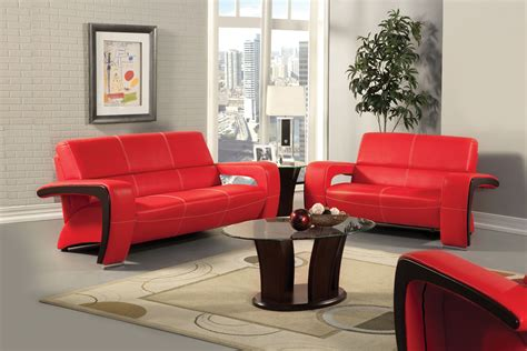 Red leather living room furniture info home and furniture decoration
