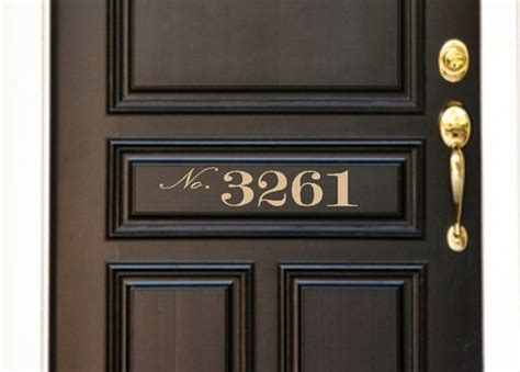 Front Door Number Plates 25 Best Ideas About Custom Number Plates On Contemporary House Numbers Metal House