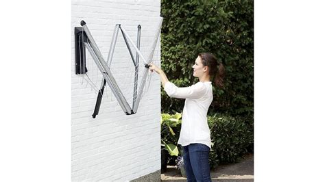 Disposal Of Kitchen Knives new brabantia wallfix rotary folding 24m clothes line w