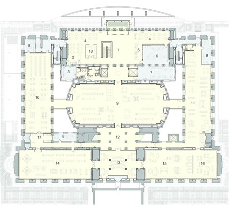 public library floor plan gallery of st louis public library cannon design 8