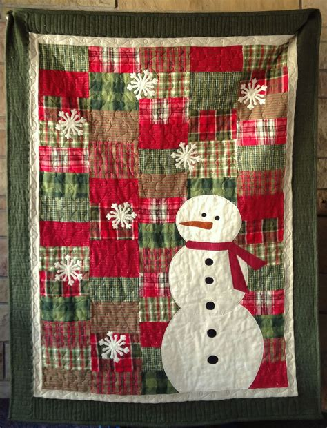 christmas pattern bedding primoplaidsnowmanpasthym christmas quilts pinterest