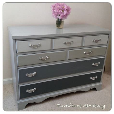 chalk paint grey dresser sloan chalk painted grey ombre dresser by furniture