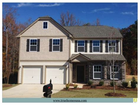 true homes usa new home builder in carolina