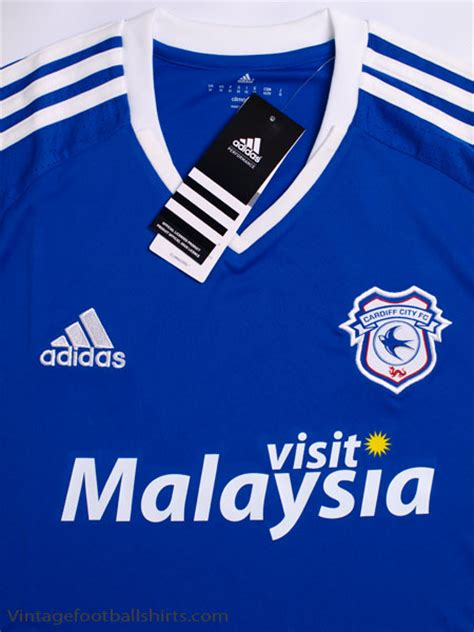 Cardiff City Home 2016 17 cardiff city home shirt bnib for sale