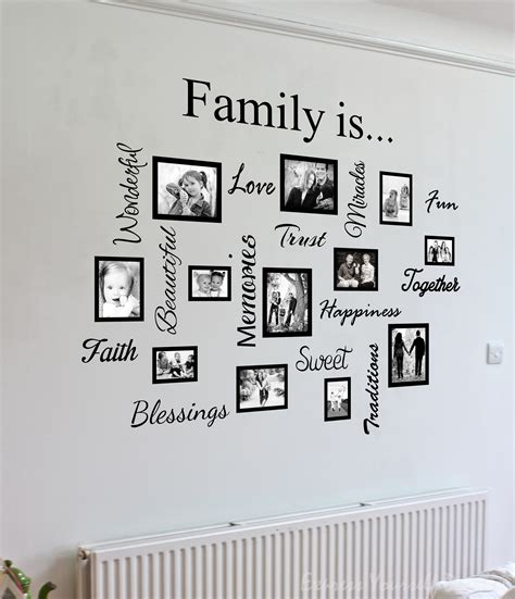 family picture wall decor wall designs family wall photo design family