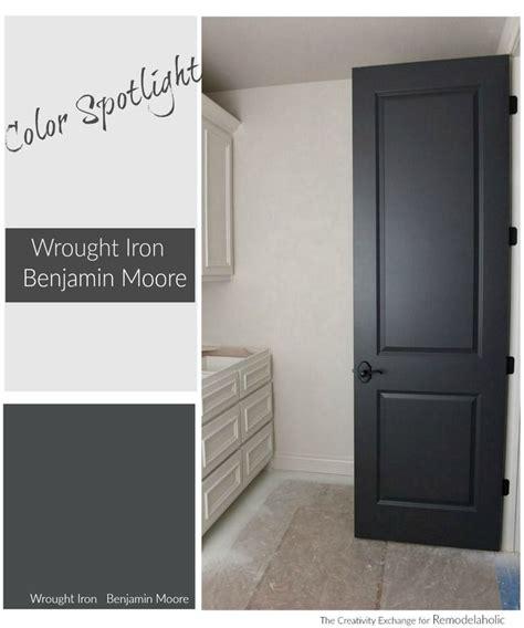 paint color spotlight benjamin moore wrought iron
