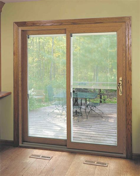 Patio Doors With Blinds Between The Glass Sliding Doors With Blinds Between Glass Kapan Date