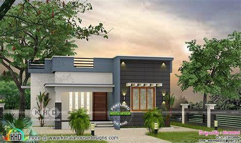 budget flat roof  bedroom house  sq ft kerala