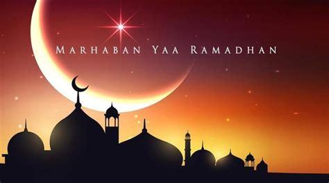 gambar ucapan marhaban ya ramadhan selamat datang bulan