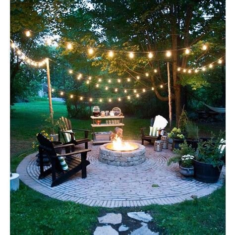 outdoor string lights 20 dreamy ways to use outdoor string lights in your