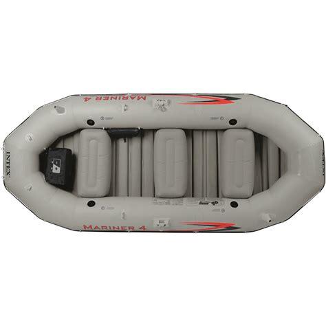 mariner 4 boat intex mariner 4 person inflatable boat set 676386 small