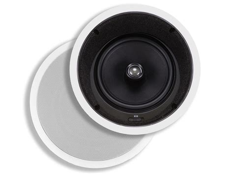 In Ceiling Angled Speakers by Caliber In Ceiling Speakers 8in Fiber 2 Way With 15