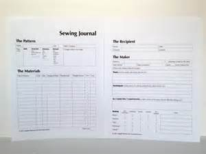project journal template make a sewing journal sew sew outstanding sewing