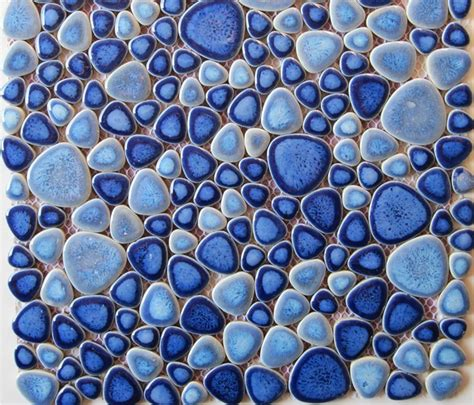 Ceramic Mosaic Tile Glazed Porcelain Tiles Pebble Mosaic Ppmt024
