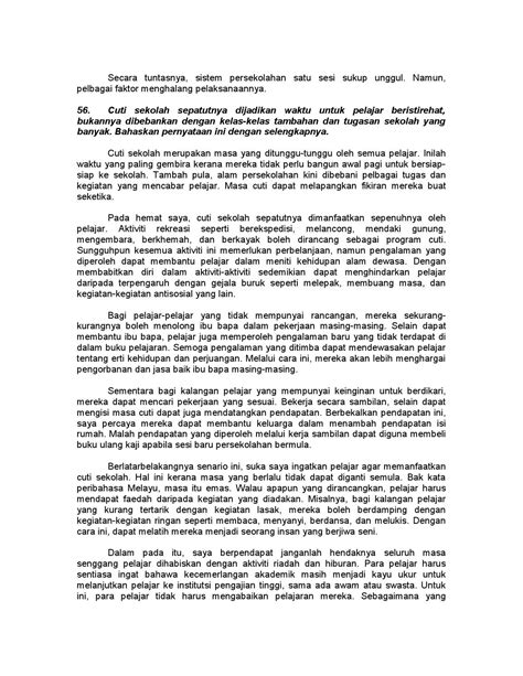 100 karangan contoh pmr dan spm by Zaiton Zaba - Issuu