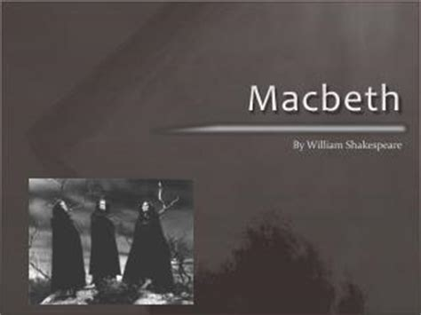 shakespeare powerpoint template ppt shakespeare s macbeth powerpoint presentation id