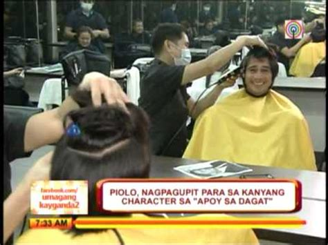 hair cut di piolo pascual piolo shaves head for apoy sa dagat youtube