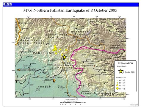 Outline The Causes Of Earthquakes Scheme by Geographyalltheway Gcse Igcse Geography Ledc Earthquake Study 2005 Kashmir