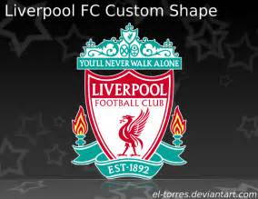 liverpool colors liverpool fc custom shape by el torres on deviantart