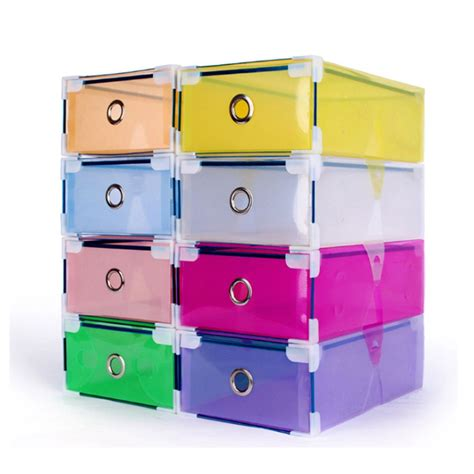 stackable storage boxes with drawers stackable clear plastic shoe box home storage boxes office