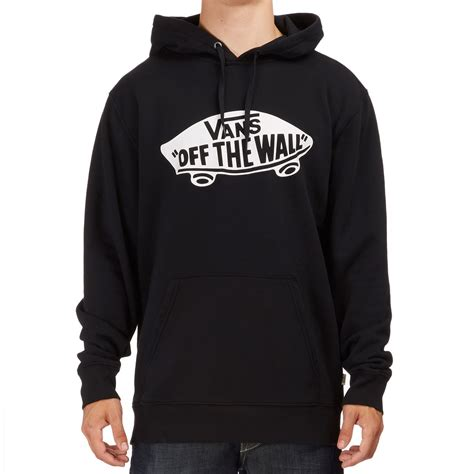 Sweater Vans The Wall 1 Station Apparel vans otw pullover hoodie black white