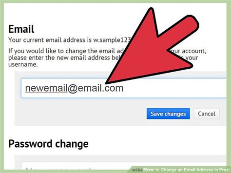 doodle 4 email address how to change an email address in prezi 5 steps with