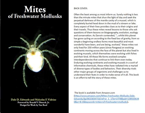book mites pictures water mites of america hydrachnidiae