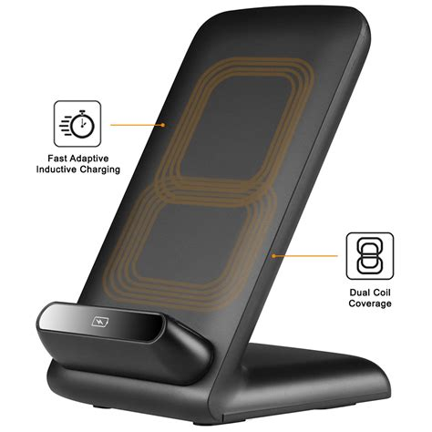 Wifi Charger 10w qi fast wireless charging stand for mobile phones