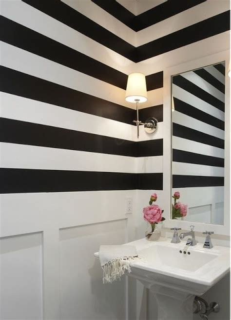 black and white striped wall the black and white striped wall inspiration the tomkat studio blog