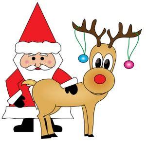 Free Free Christmas Clip Art Image 0515-0912-1509-5701 ... Free Clip Art Santa And Reindeer