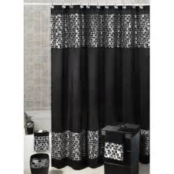 Yellow Black And White Shower Curtain Black And White And Gray Curtains For Shower Useful