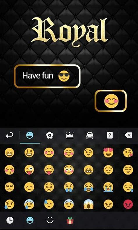 go keyboard themes iphone royal go keyboard theme emoji free android keyboard
