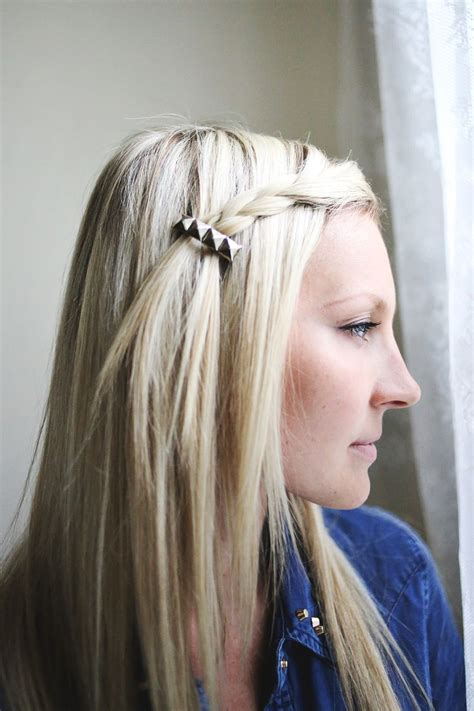 hair styles with rhinestones let s make hair clips a beautiful mess