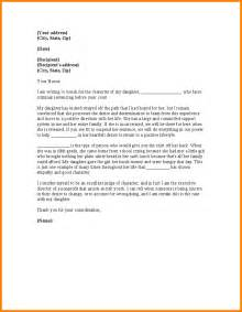 Custody Letter Format by 4 Character Reference Letter For Child Custody Resume
