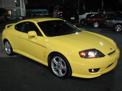 2005 Hyundai Tiburon Se by Used 2005 Hyundai Tiburon Se For Sale Stock 14071