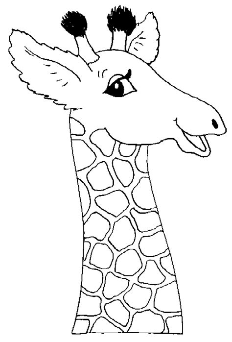 coloring pages of cartoon giraffes giraffe coloring pages bestofcoloring com