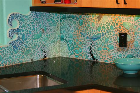 sea glass decor design pictures remodel decor and ideas bliss glass tile norwegian ice backsplash wall in laundry