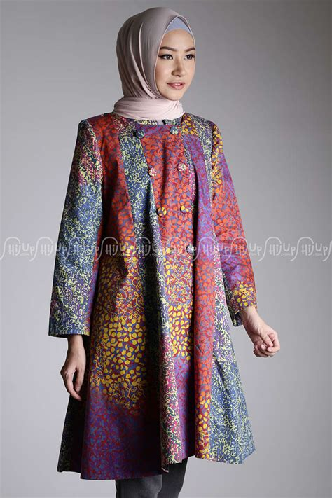 Dress Ethnic Dress Impor Dress Batik Dress Kerja model baju retro bolero rajut batik arrazaq related