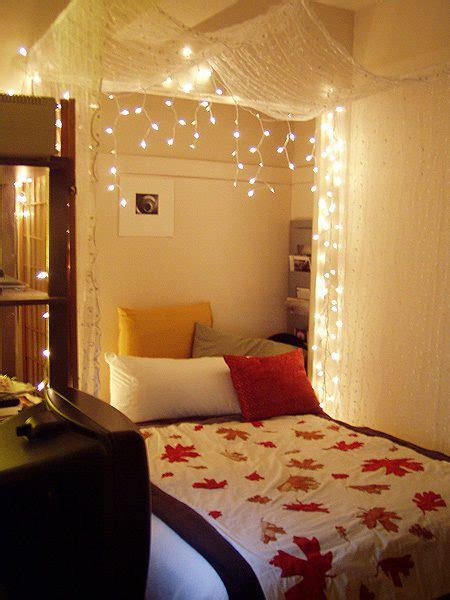 Betthimmel Mit Lichterkette by The Lovely Side Do It Yourself Bed Canopies
