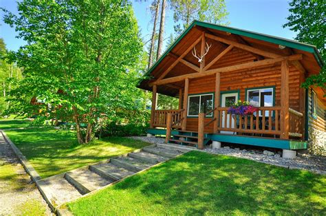 Cabins In National Park by Glacier National Park Lodging Glacier National Park