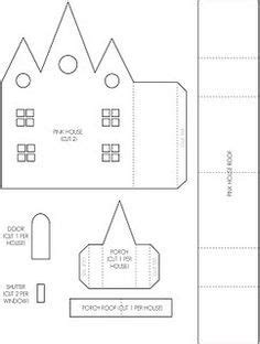 1000 Images About Templates On Pinterest House Template Christmas Paper And Putz Houses Church Model Template