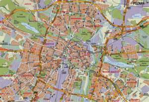 map for map of poznan