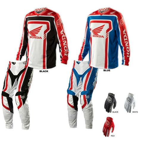 honda motocross gear troy designs 2014 gp air honda jersey pant combo