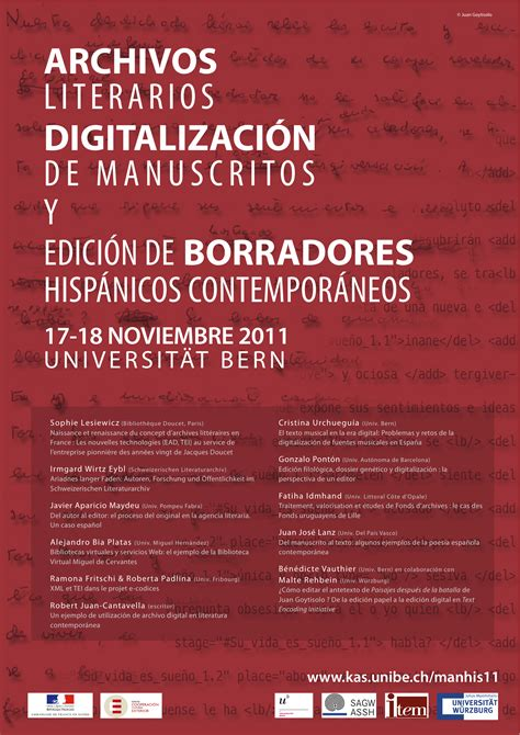 mis documentos narrativas hispanicas 8433997718 171 archivos literarios digitalizaci 243 n de manuscritos edici 243 n de borradores hisp 225 nicos