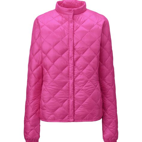 Uniqlo Quilted Jacket by Uniqlo Ultra Light Compact Quilted Jacket In Pink