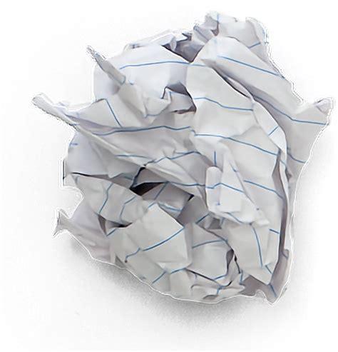 paper wad crumbledpaper trash garbage