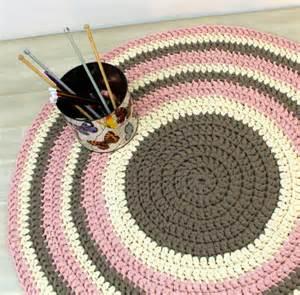 children rug cotton rug crochet rug rug by omanistudio