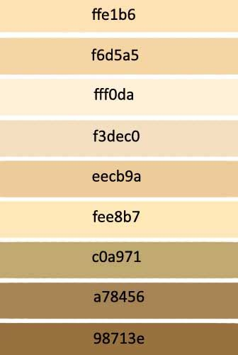 skin color code photoshop skin tones by gelabird on deviantart